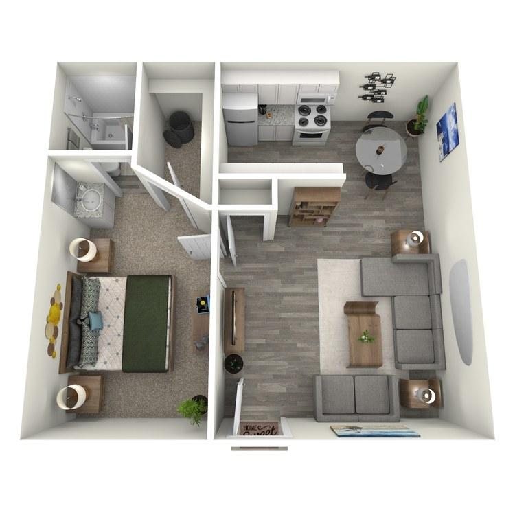 Floor plan image of Sugar Pine