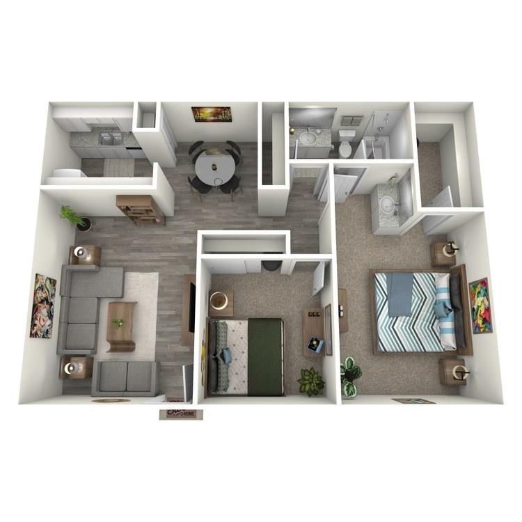 Floor plan image of Stone Pine