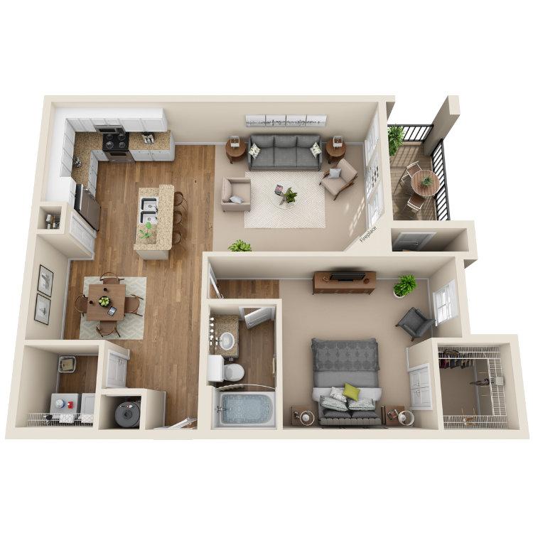 Floor plan image of The Colorado