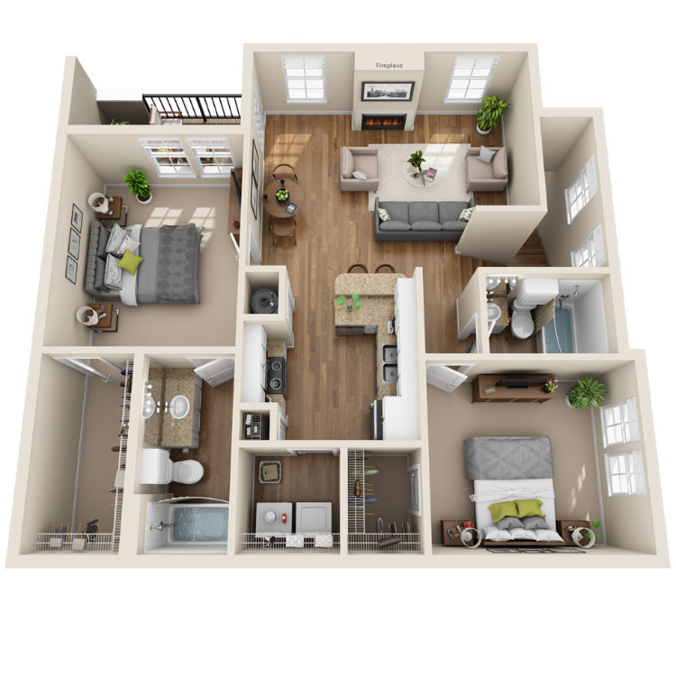 Floor plan image of The Tchoutacabouffa
