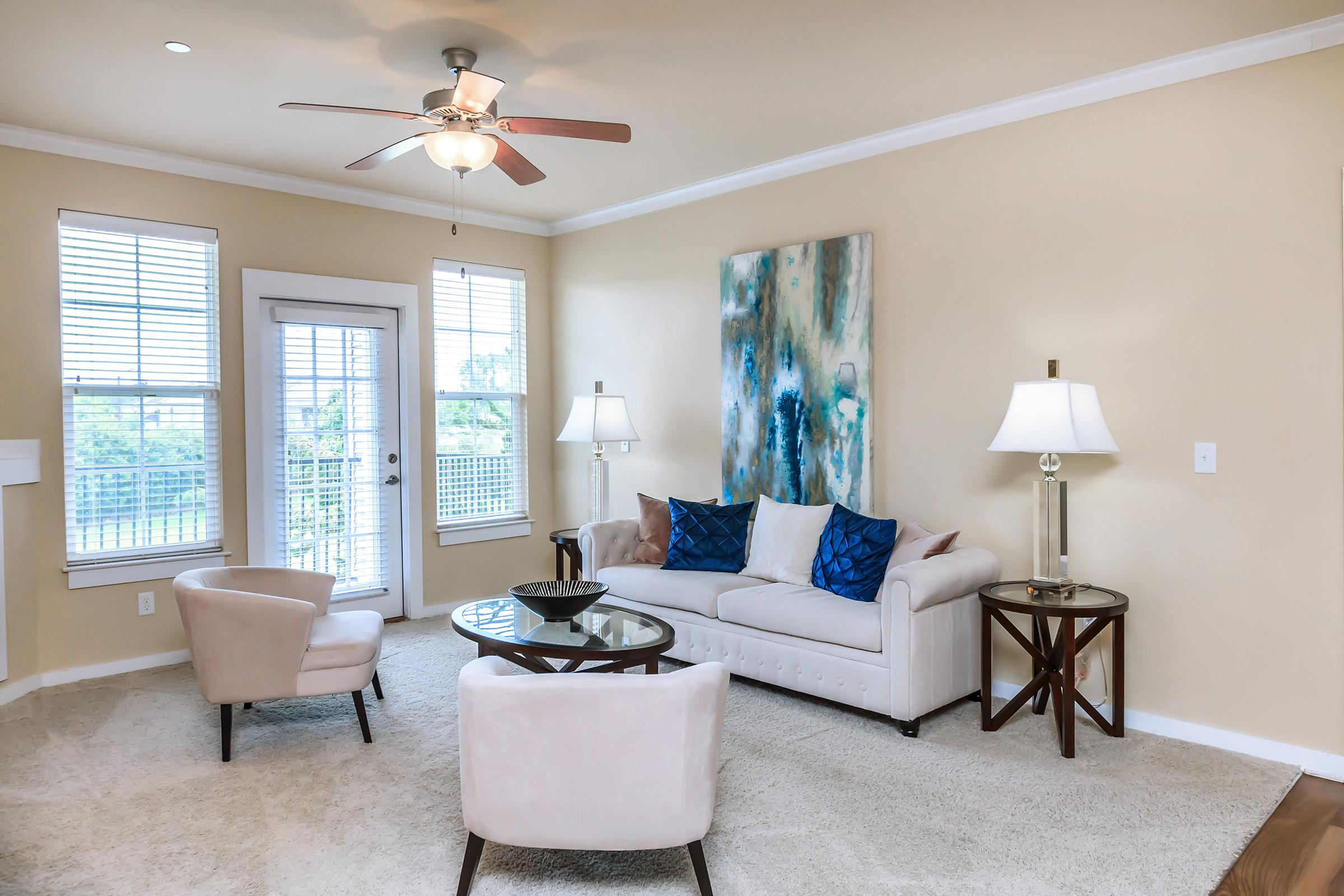 FURNISHED APARTMENT HOMES AVAILABLE AT ARBOR LANDING ON THE RIVER.
