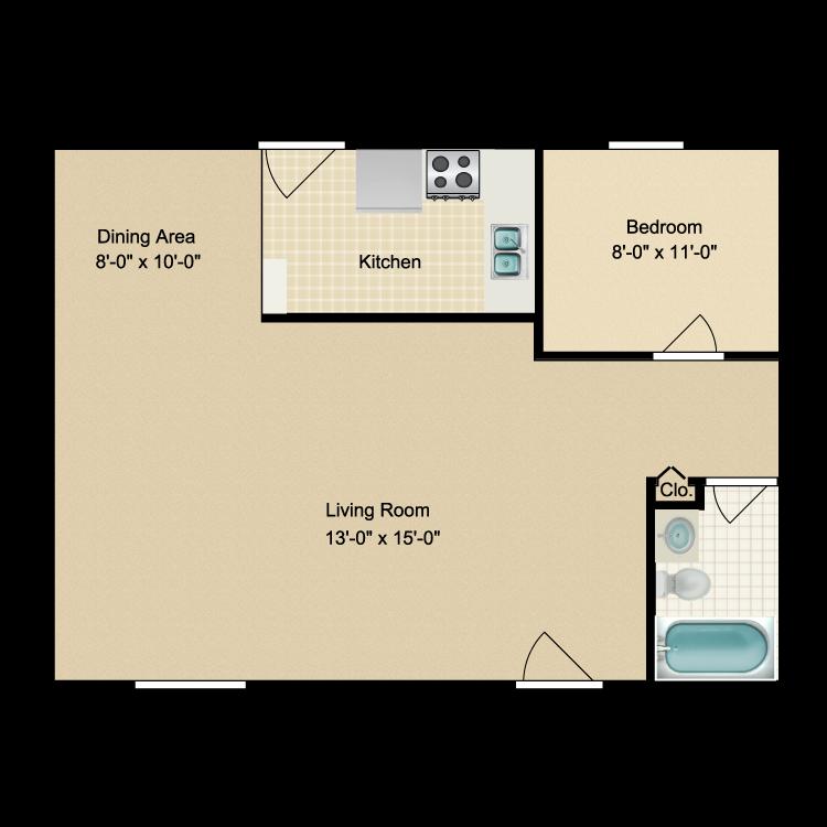 Floor plan image of The Wilson