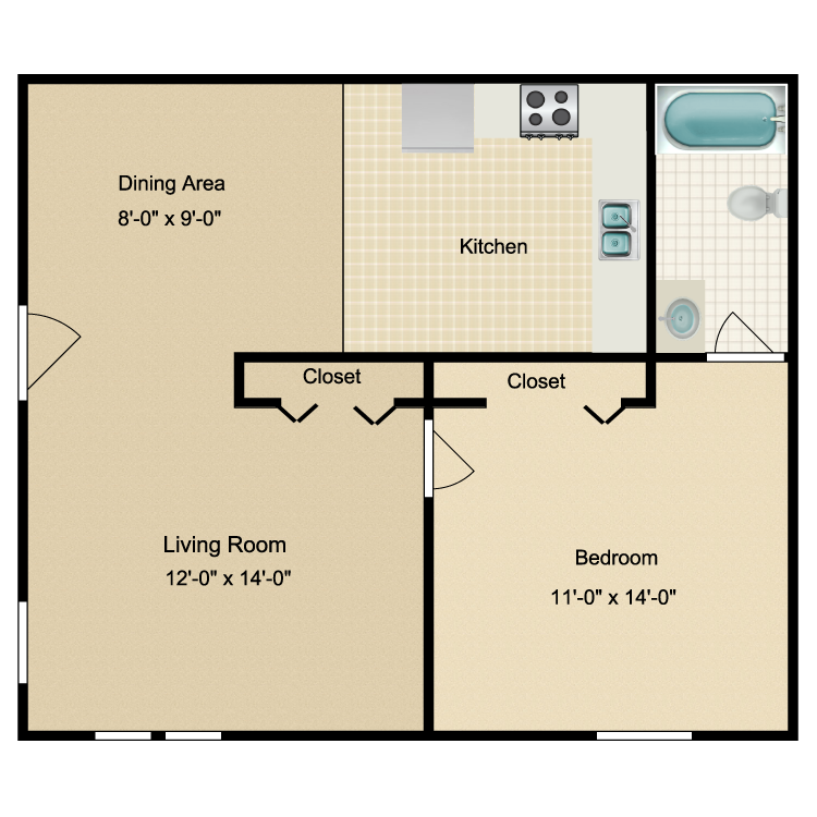 Floor plan image of The Cottonwood