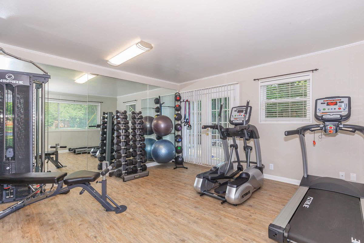 Fitness Center at Poplar Village