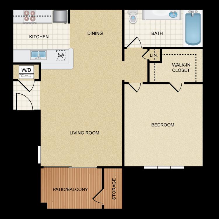 Coronado floor plan image