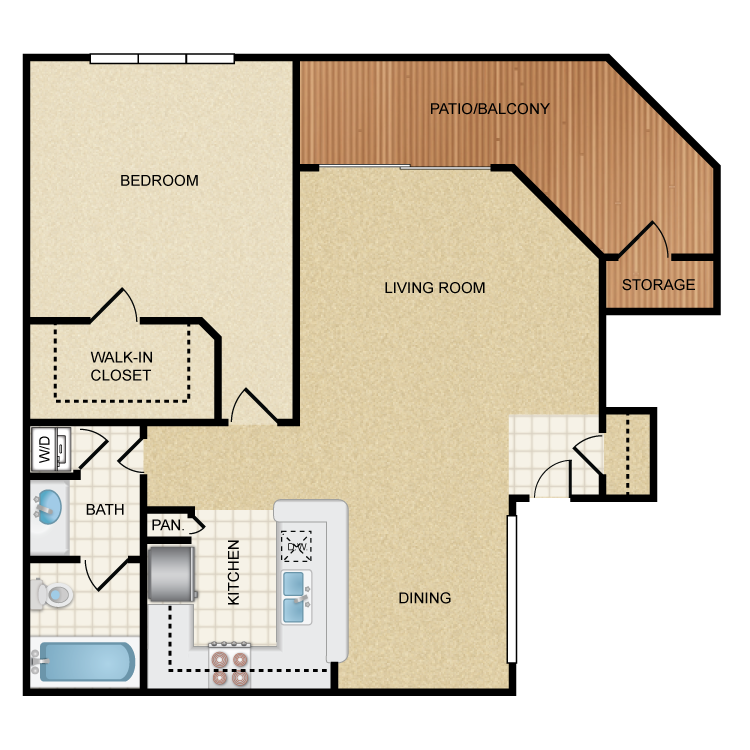 Doheny floor plan image