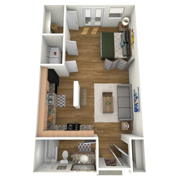 Floor plan image of Pecos