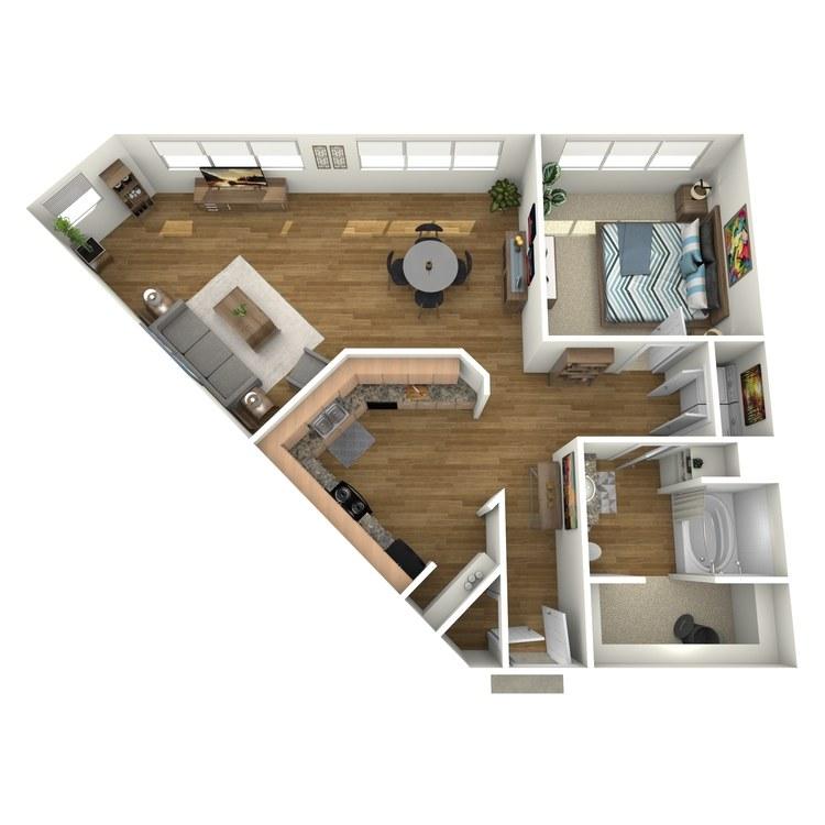 Floor plan image of L200