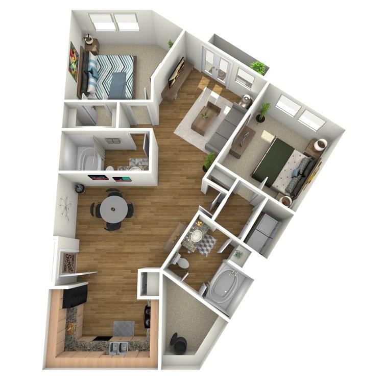Floor plan image of Grayson