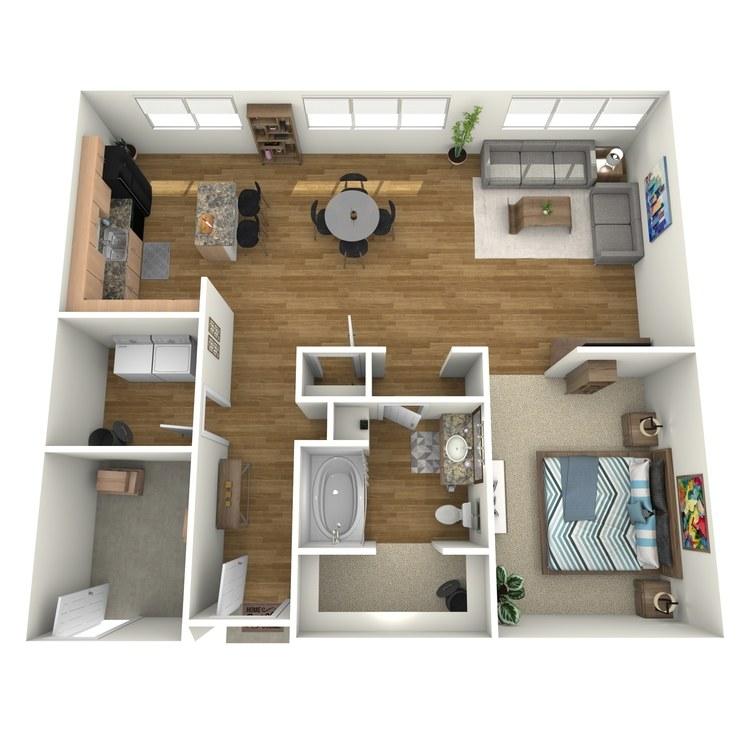 Floor plan image of L400