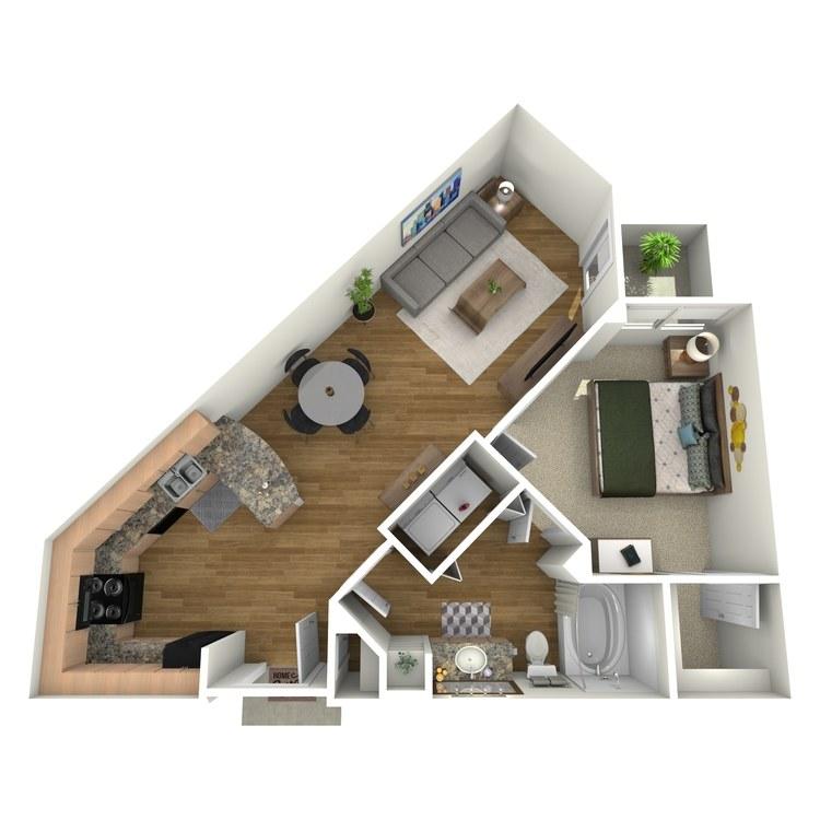 Floor plan image of Baylor