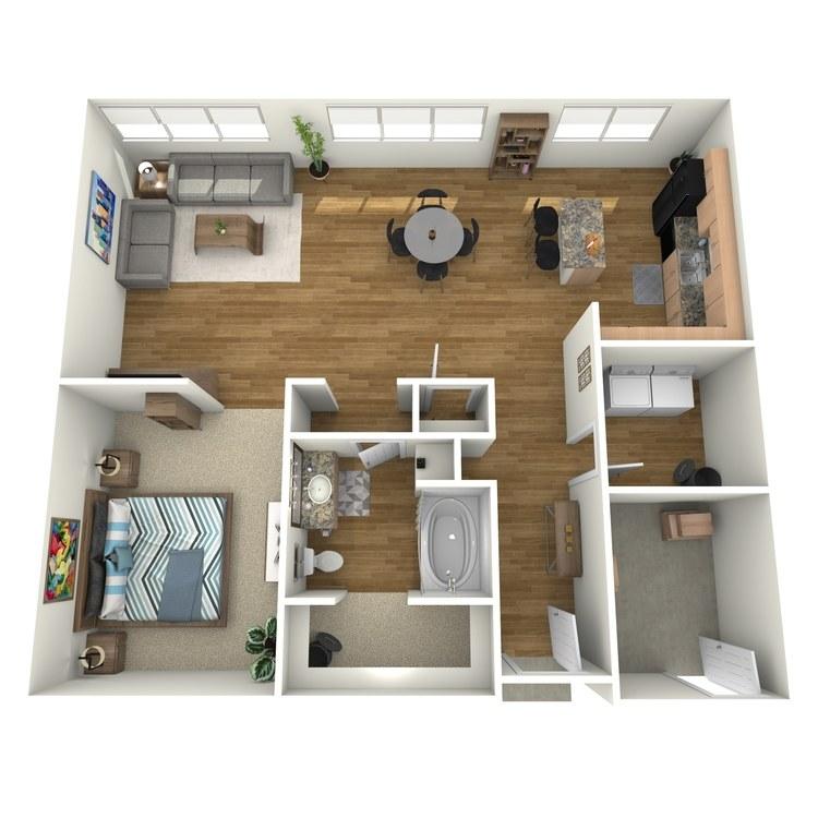 Floor plan image of L100