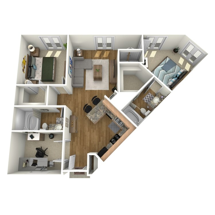 Floor plan image of Bastrop