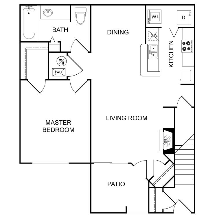 Floor plan image of The Santa Fe