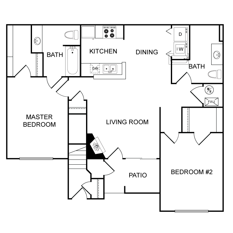 Floor plan image of The Topeka