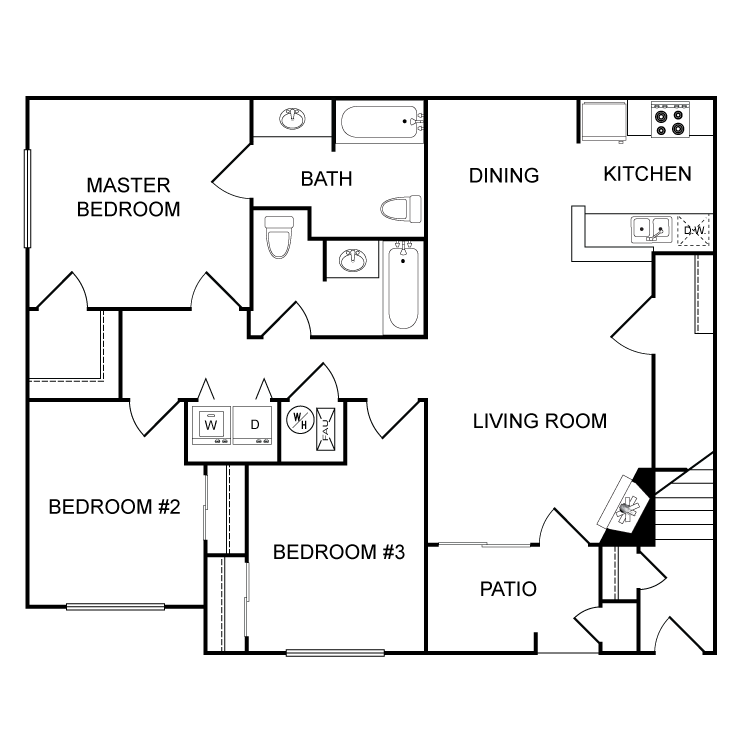 Floor plan image of The Atchison