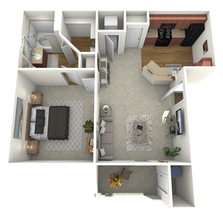 Floor plan image of The Venetian