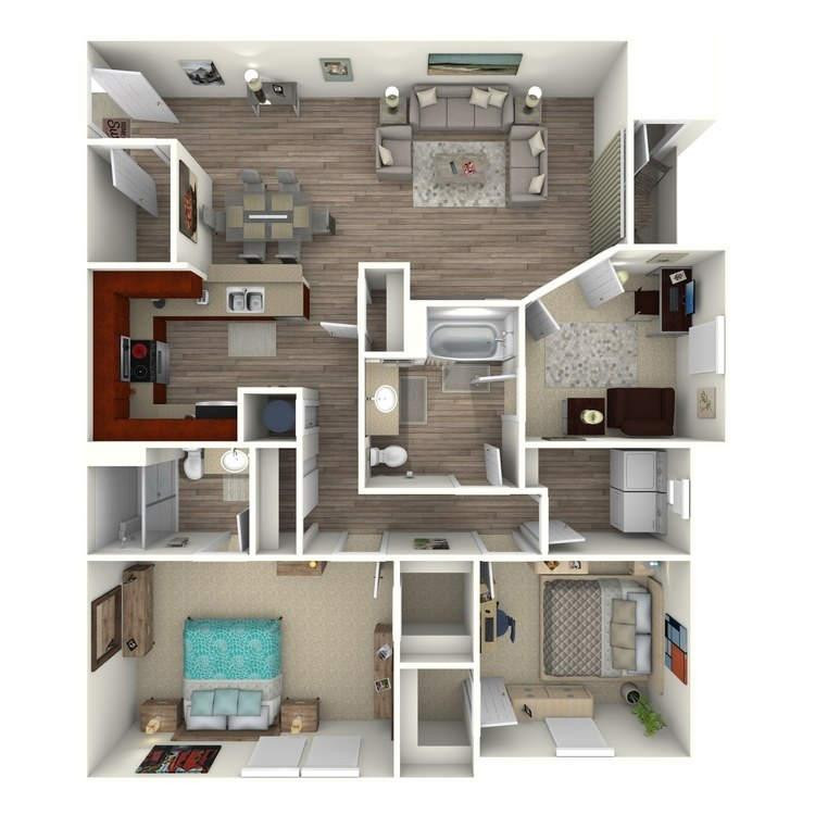 Floor plan image of The Ridgebury