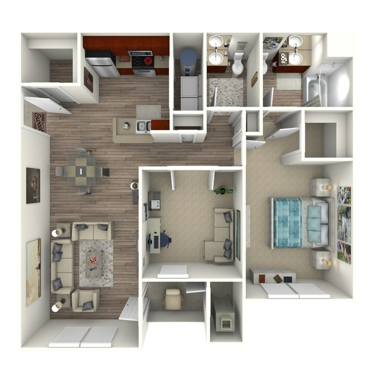 Floor plan image of The Glenmore