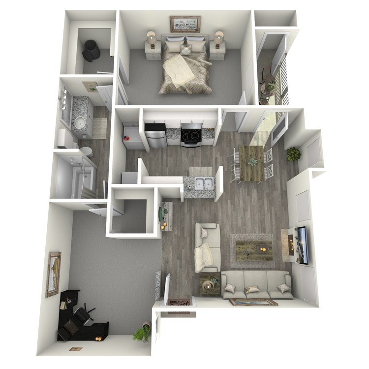 Floor plan image of B1 Classic