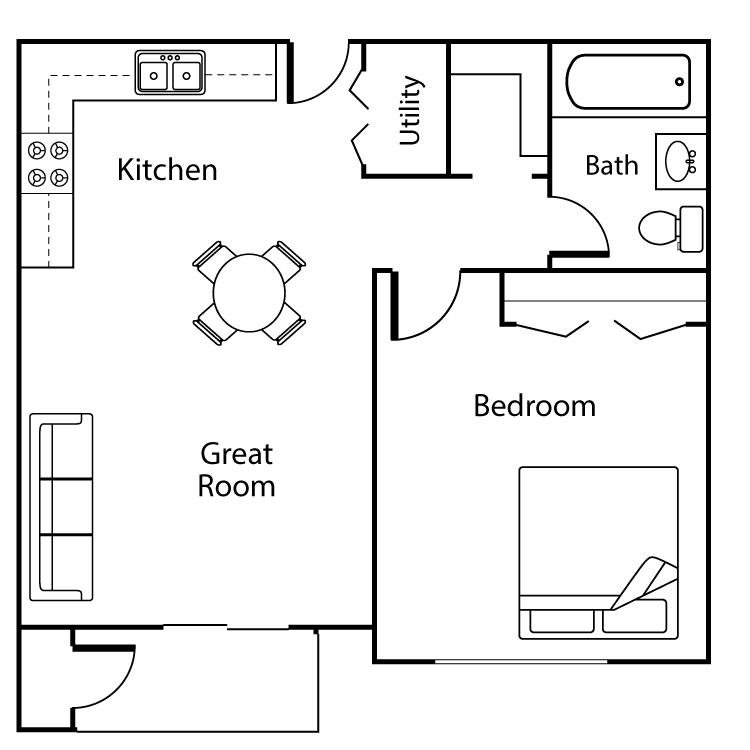 Floor plan image of Fallen Leaf