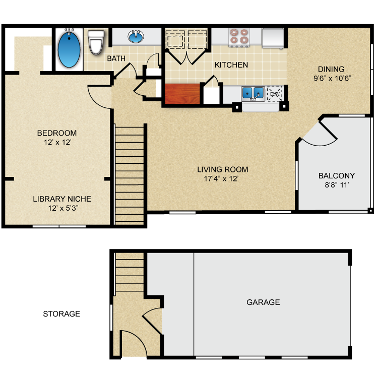 Floor plan image of A3 Brentwood
