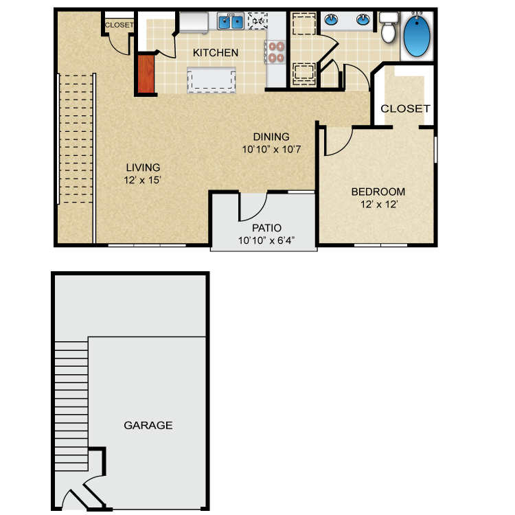 Floor plan image of A4 Powell