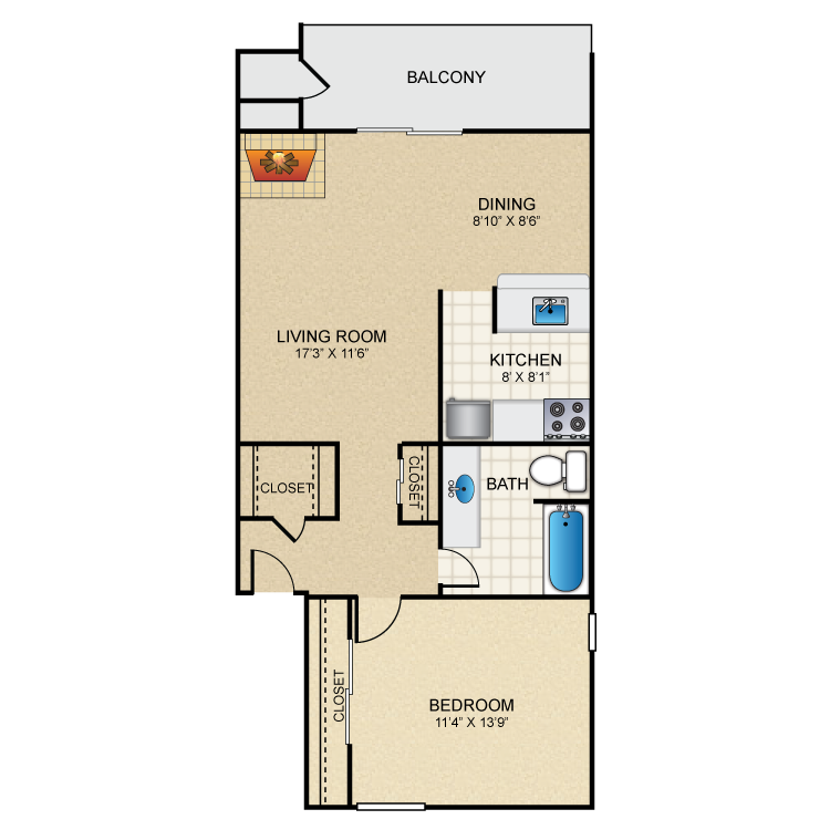 Floor plan image of Verde