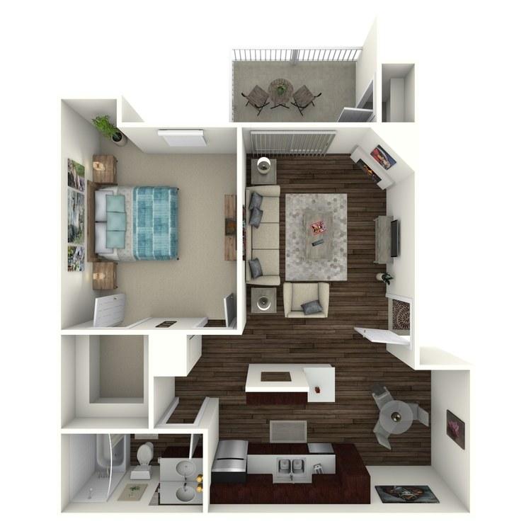 Floor plan image of Ridgepoint