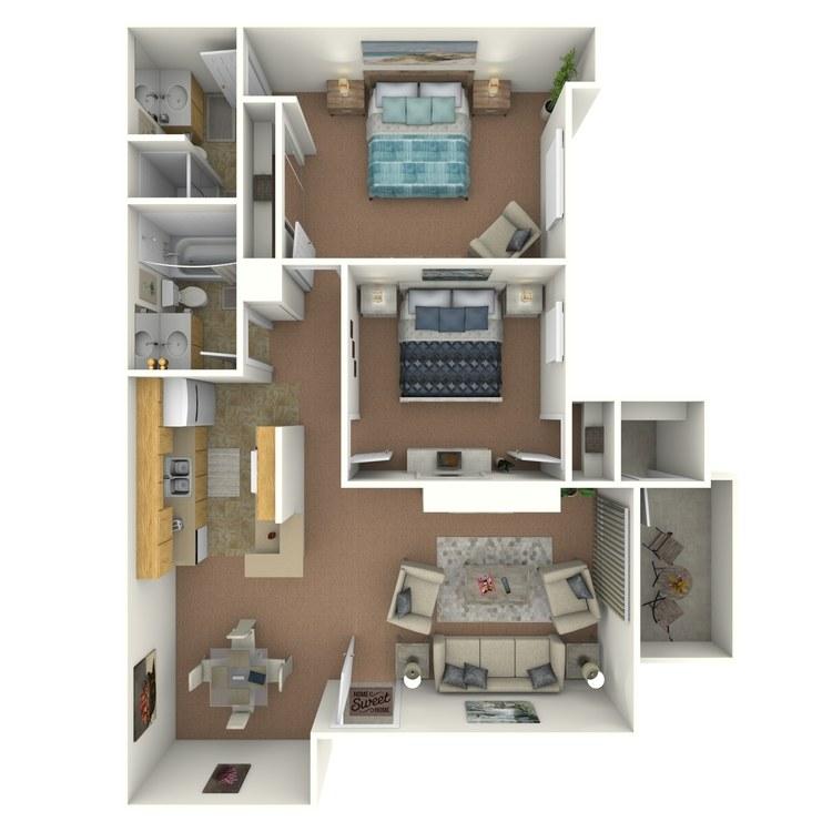Floor plan image of Pinnacle
