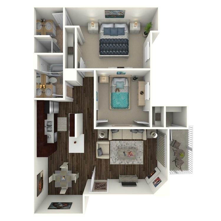 Floor plan image of Crest