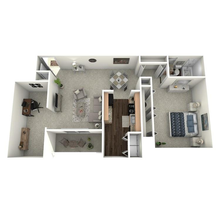Floor plan image of The Evergreen