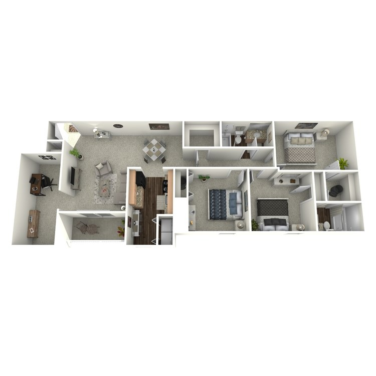 Floor plan image of The Tamarack