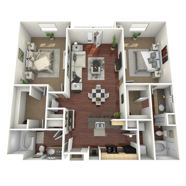 Floor plan image of San Angelo