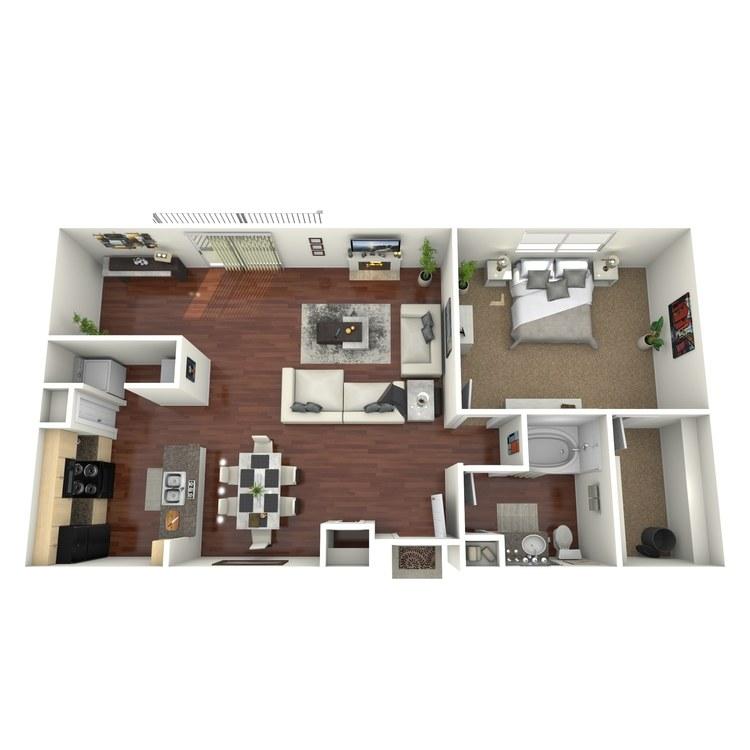Floor plan image of Victoria