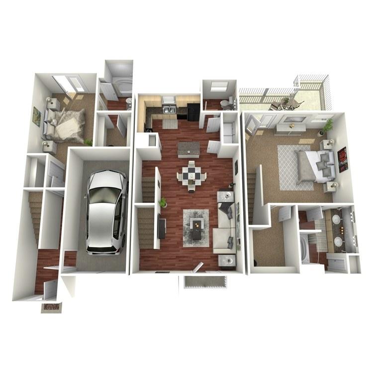 Floor plan image of Luling