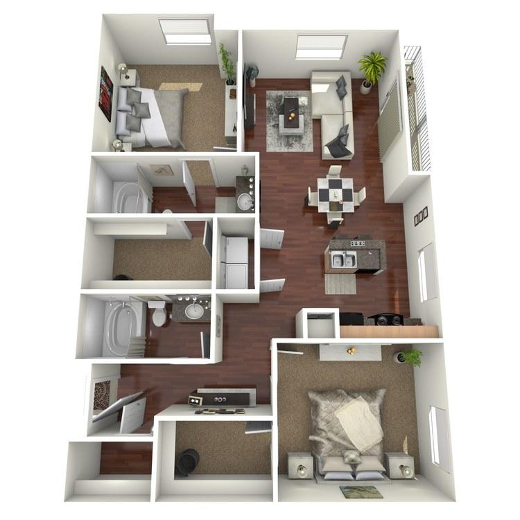 Floor plan image of Laredo