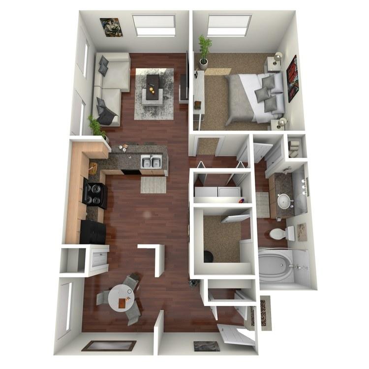 Floor plan image of Austin