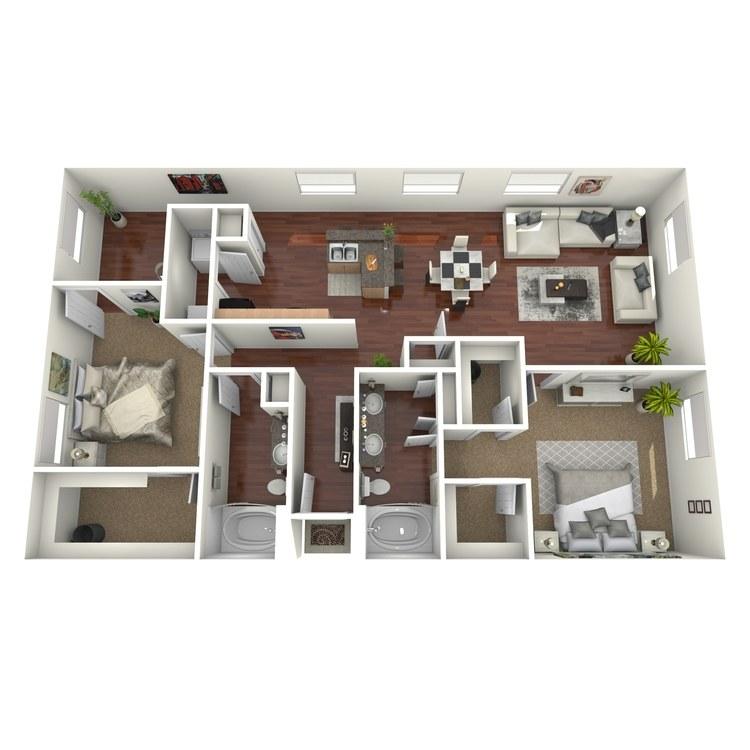 Floor plan image of Grapevine