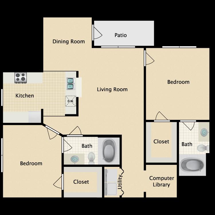 Floor plan image of Briarwood