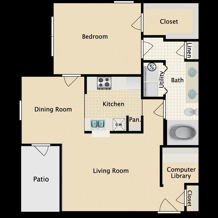 Floor plan image of Greenbriar