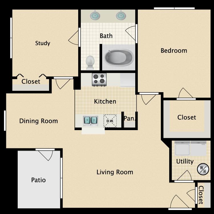 Floor plan image of Greenway