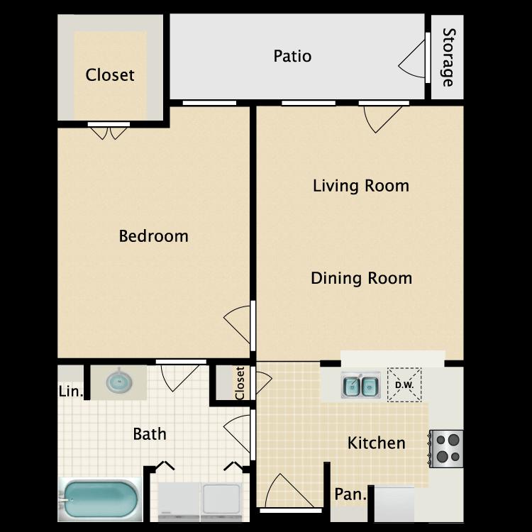 Floor plan image of Richmond