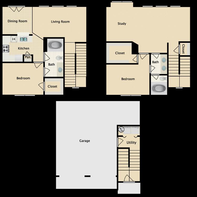Floor plan image of Weslayan