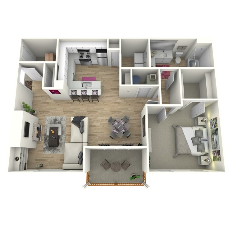 Floor plan image of The Akers