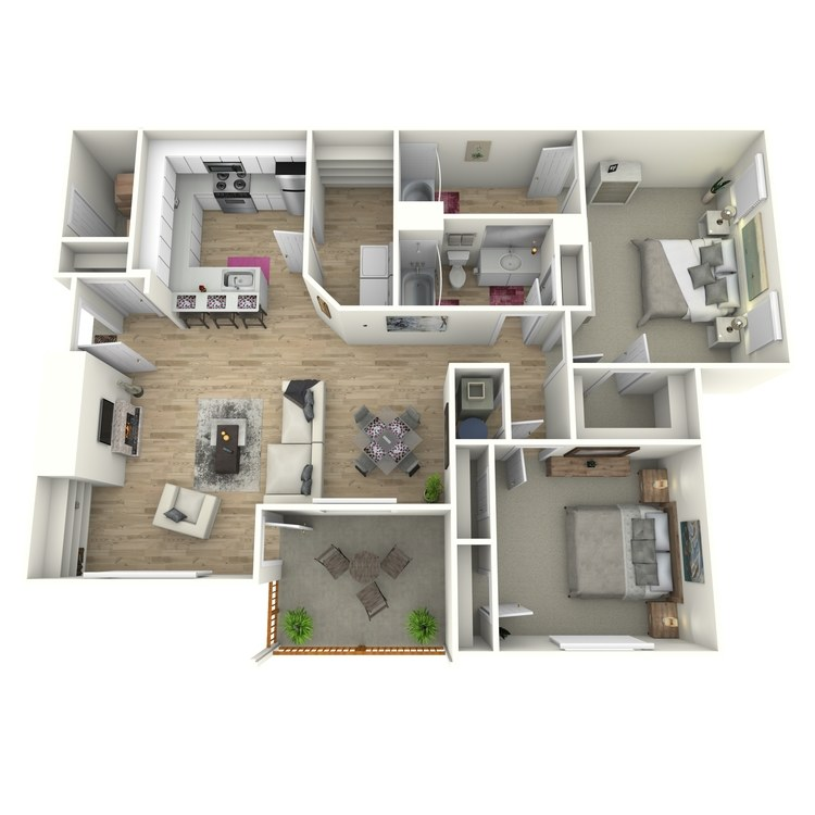 Floor plan image of The Howell