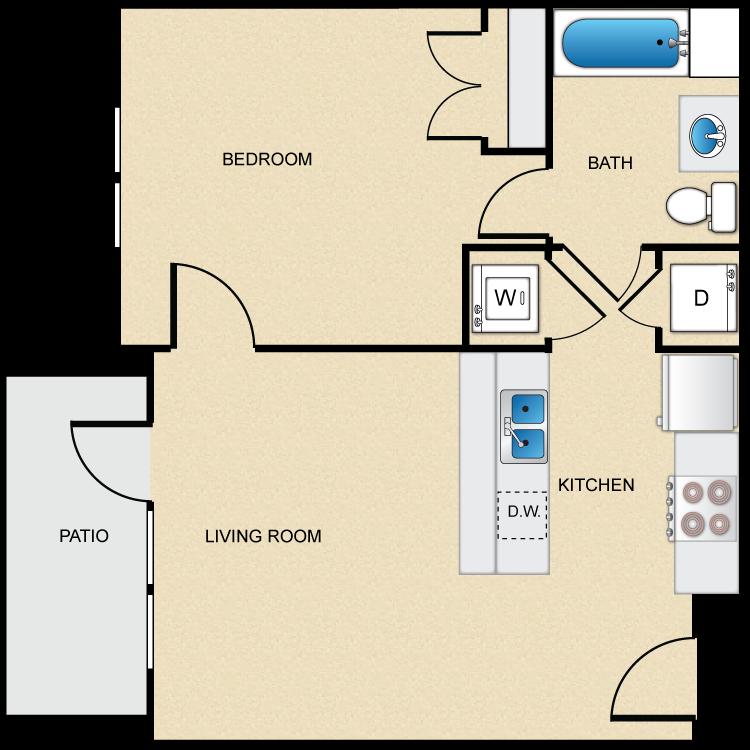 Floor plan image of Type A-1