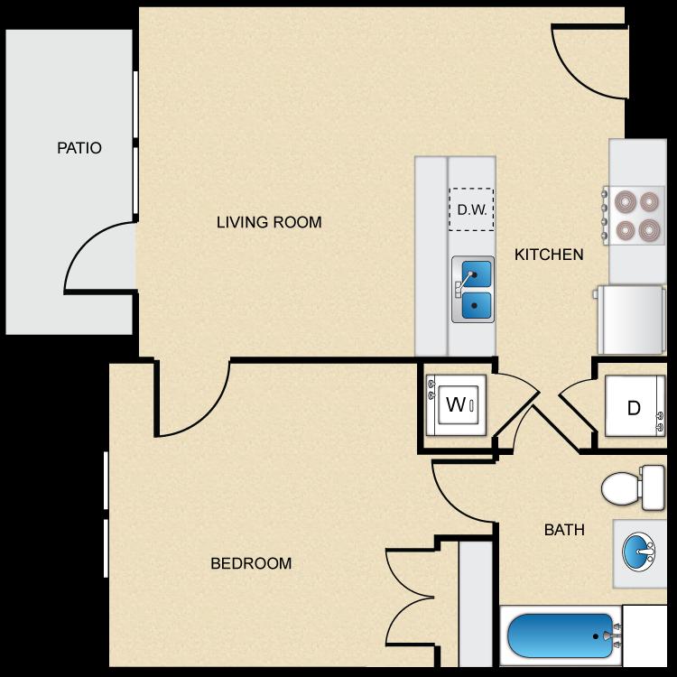 Floor plan image of Type B