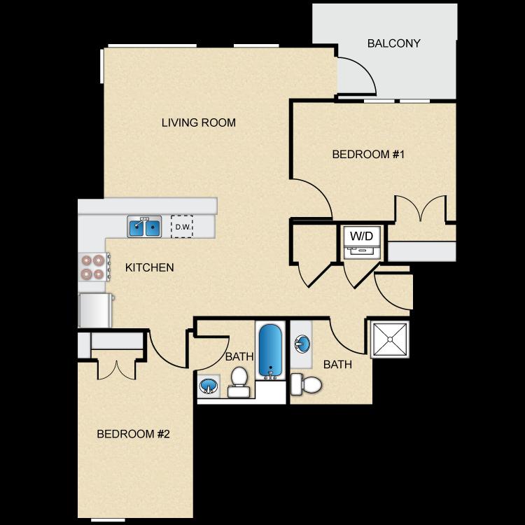 Floor plan image of Type C-2