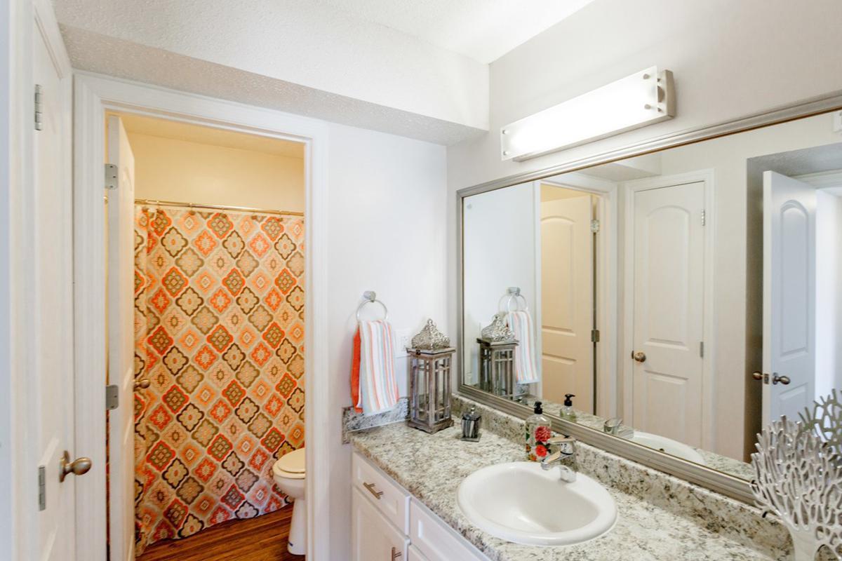 Beautiful bathroom in two bedroom apartment